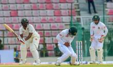 Zimbabwe reaches 91 for 2 at lunch on day 3 in first Test