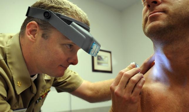 Skin cancer deaths among men soar