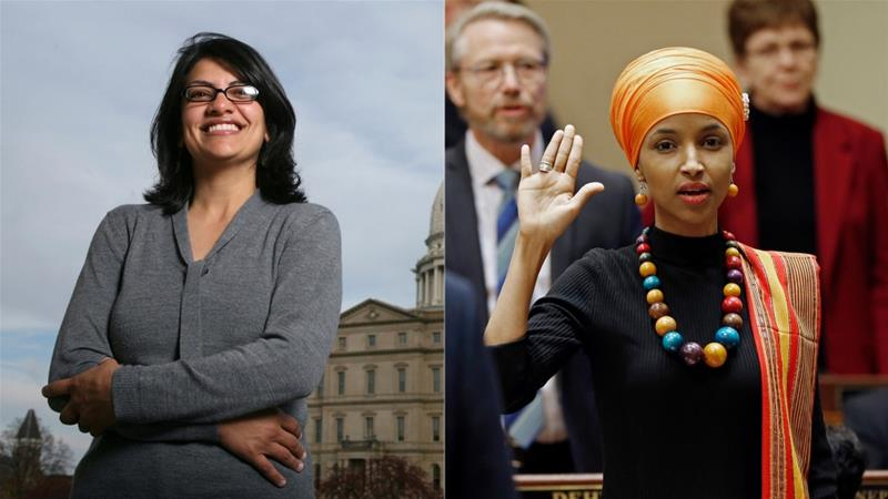 1st two Muslim women elected in US Congress