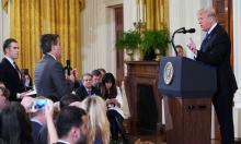 White House suspended press pass of CNN reporter