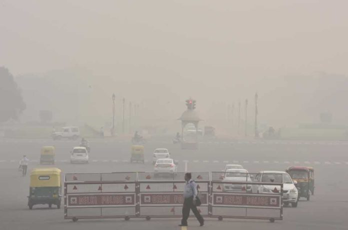 Air pollution level continues to worsen in New Delhi