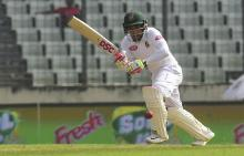 Tigers' reign first day as Mominul, Mushfiqur hits ton in 2nd Test