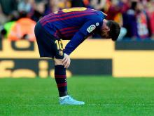 Barca suffer first league home loss in 2 years