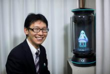 Man 'married' to a hologram