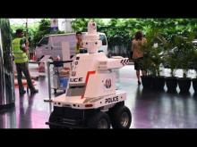 'Robocop' on patrol at Singapore summit