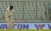 Taylor fights with fifty but Bangladesh put the squeeze on