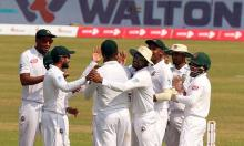 Bangladesh beat Zimbabwe by 218 runs in Dhaka Test