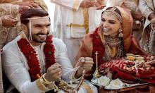 Deepika-Ranveer wedding: First pics of the gorgeous couple spell magic!