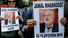 Saudis push to end Khashoggi crisis but threat lingers