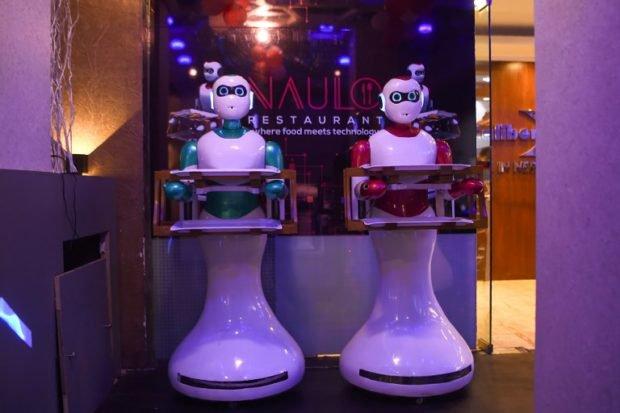 Ginger: Nepal's first robot waiter