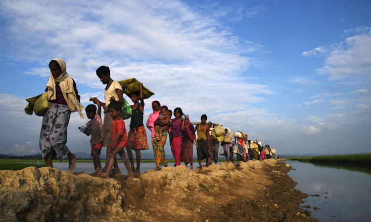 China offers Myanmar support over Rohingya issue