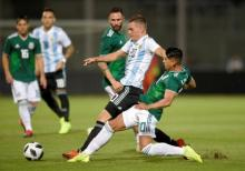 Argentina beat Mexico in international friendly