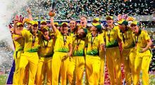 Australia women beat England to win World T20 title
