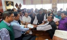 Nomination papers for Sheikh Hasina submitted for Gopalganj-3