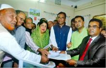Nominations for Hasina, Shirin submitted for Rangpur-6