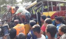 Woman, daughters among 5 killed in Sirajganj road crash