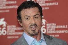 Stallone hangs up Rocky gloves