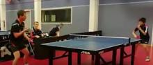 Teen goes viral for amazing table tennis shot