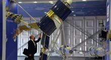 Russia launches three military satellites
