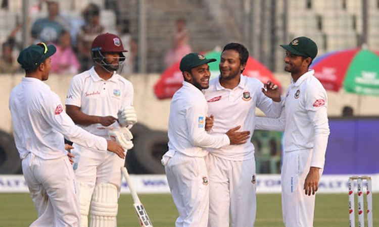 Tigers whitewash West Indies