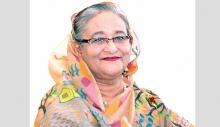 'Hasina doing miracle in building Sonar Bangla'