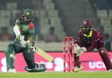 Bangladesh set 256 runs target for WI in 2nd ODI