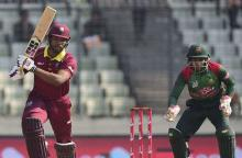 West Indies beat Bangladesh by 4-wicket in 2nd ODI