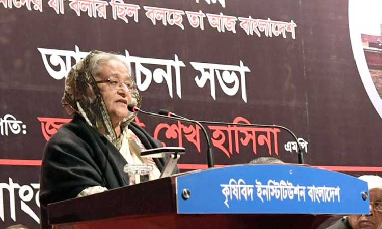 BNP pushing politics towards crime den: PM