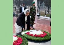 PM pays homage to martyred intellectuals