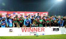 Bangladesh take series with big win