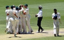 Australia level India series with 1st Test win since ball tampering scandal
