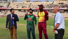 West Indies win toss, opt to field first against Bangladesh in 2nd T20I