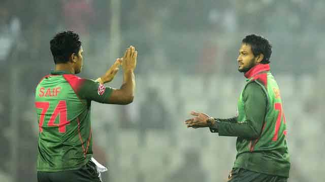 Shakib stars as Tigers level series in style