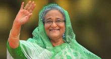 Sheikh Hasina to address poll rally in city today