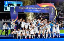 Real clinch third straight Club World Cup