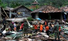 Indonesia tsunami death toll reaches 373