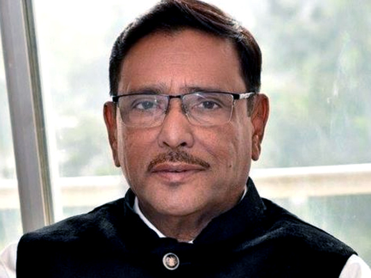 Quader urges party men to remain alert during polls campaign
