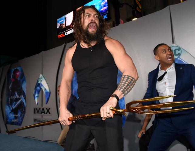 'Aquaman' stays afloat atop N American box office