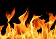 Fire at plastic factory in Dhaka