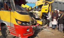 One killed in bus-truck collision in Tangail