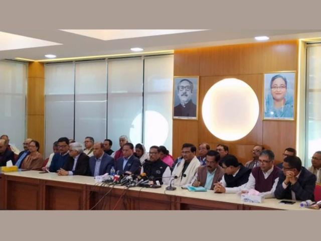 Quader blasts BNP for complaints over polls debacle