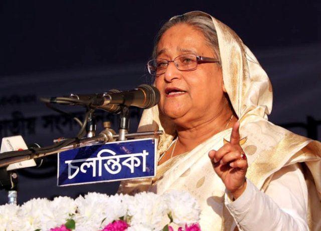 Ershad congratulates Sheikh Hasina