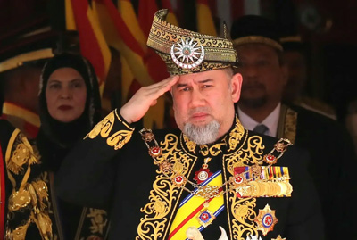 Malaysia's king abdicates: palace statement
