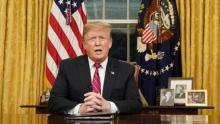 In Oval Office speech, Trump demands a wall but does not declare emergency