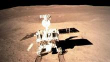China moon rover 'Jade Rabbit' wakes from 'nap'