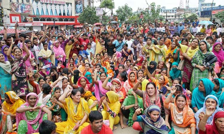 Govt announces revised wage structure for garment workers
