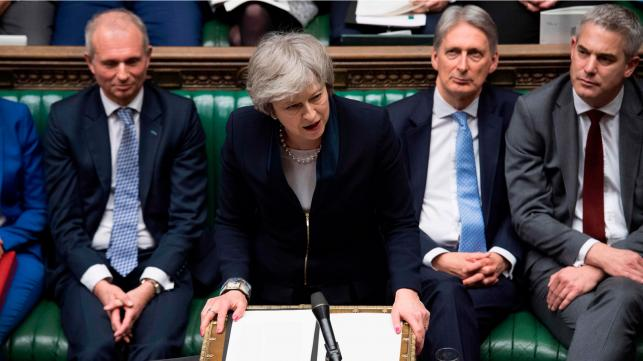 UK parliament rejects Brexit deal