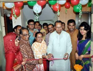 Information Minister Hasanul Haque Inu inaugurated the new office  of bbarta at Karwan Bazar on Sunday.
