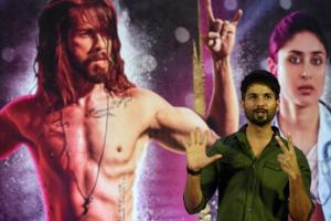 Bollywood actor Shahid Kapoor gestures as he poses during a news conference for his upcoming film \'Udta Punjab\' in Mumbai on June 14. A top court told India\'s film censor board on June 13 not to act \