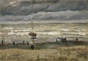 A Picture released by the Van Gogh Museum on September 30, 2016 shows the painting \